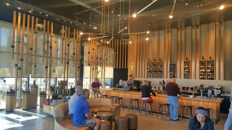 Starbucks interior