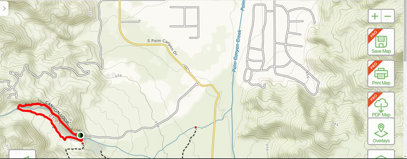 TRAILS WITHIN THE CITY OF PALM SPRINGS