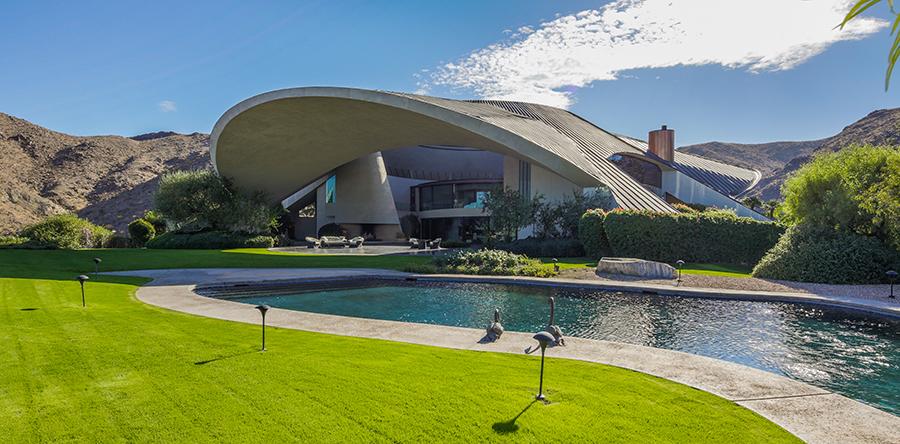 History Of Famed Bob Hope House Visit Palm Springs