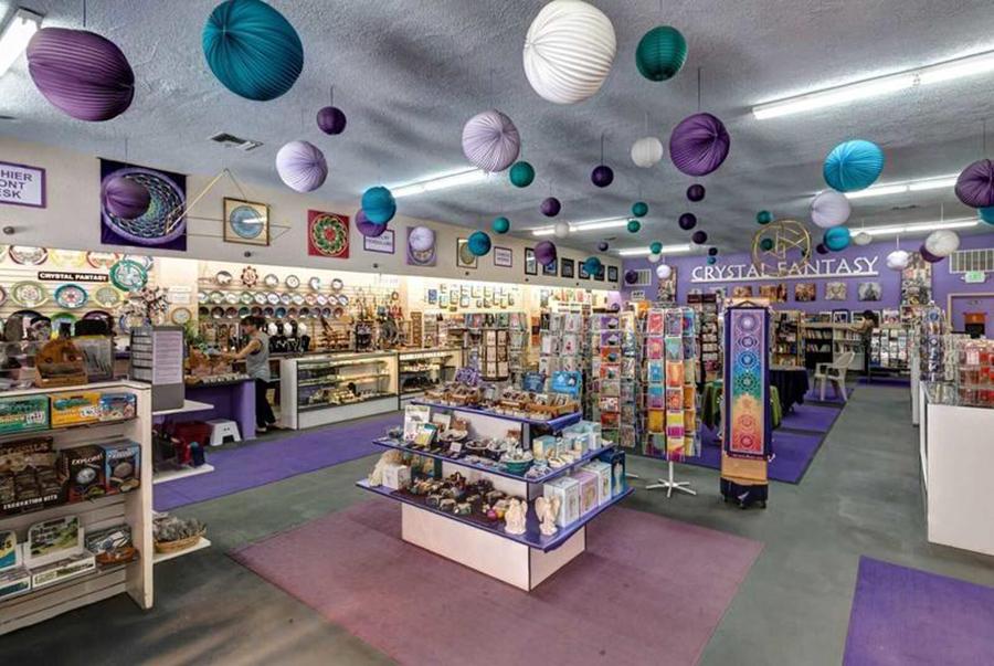 Interior shot Crystal Fantasy