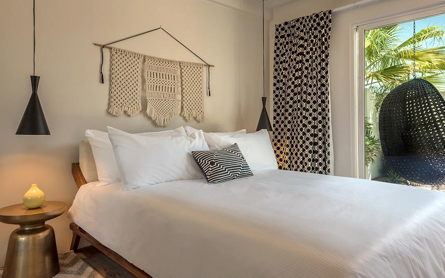 The weekend resort bedroom