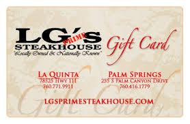 LG Prime Steakhouse
