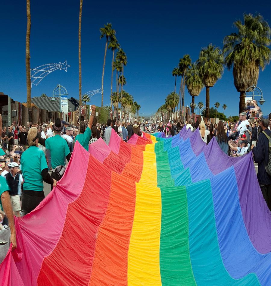 palm springs pride flag